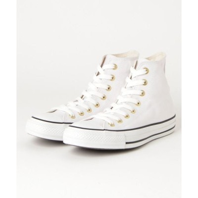 スニーカー CONVERSE ALL STAR WEARABLE STICKER HI (WHITE)