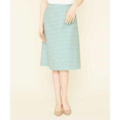 Sybilla / シビラ ドットジャカードスカート