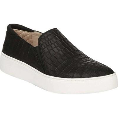 ドクター ショール Dr. Scholl's Original Collection レディース スリッポン・フラット スニーカー Dazed Slip On Sneaker Black Croc Embossed Leather