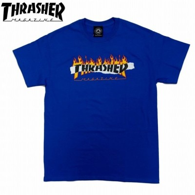 半袖Tシャツ リップドフレイムMAG 144669 THRASHER スラッシャー ストリート系 スケート系 スケボー B系 レターパック対応