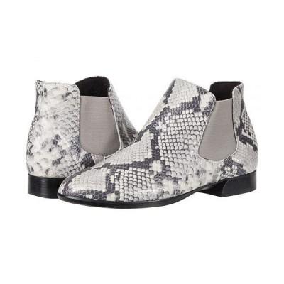 Munro ムンロ レディース 女性用 シューズ 靴 ブーツ チェルシーブーツ アンクル Cate - Grey Snake Leather/Grey Core