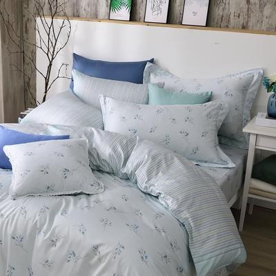 OLIVIA  蘇菲亞 標準雙人床包被套四件組 300織精梳純棉 台灣製