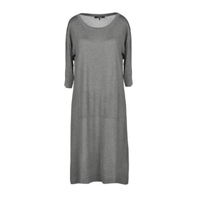 WEEKEND MAX MARA ミニワンピース&ドレス グレー XL シルク 60% / ウール 40% ミニワンピース&ドレス