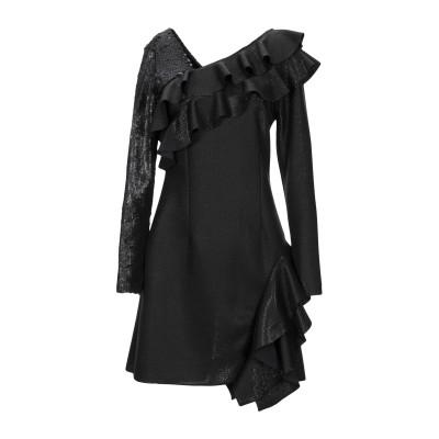 オディエアモ ODI ET AMO ミニワンピース&ドレス ブラック S ポリエステル 100% ミニワンピース&ドレス