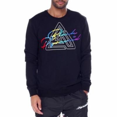 ブラックピラミッド Black Pyramid メンズ スウェット・トレーナー トップス maze spectrum crewneck Black