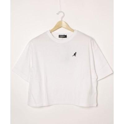 tシャツ Tシャツ 【KANGOL/カンゴール】バックプリント ビッグシルエットTシャツ ワンポイントロゴ