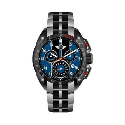 ミニ Mini 160122 クロノグラフ 時計 オフィシャル メンズ ウォッチ イエロー
