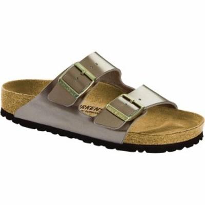 ビルケンシュトック Birkenstock USA レディース サンダル・ミュール シューズ・靴 Birkenstock Arizona Sandal Electric Metallic Taupe
