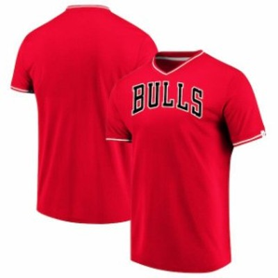 Fanatics Branded ファナティクス ブランド スポーツ用品  Fanatics Branded Chicago Bulls Red True Classics V-Neck