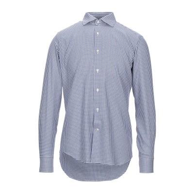 MATTEUCCI 1939 シャツ ブルー 39 コットン 100% シャツ