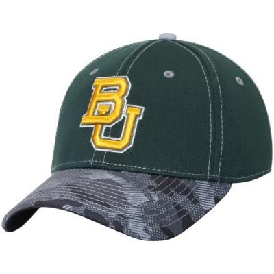 ユニセックス スポーツリーグ アメリカ大学スポーツ Baylor Bears Modern Camo Adjustable Hat - Green - OSFA 帽子