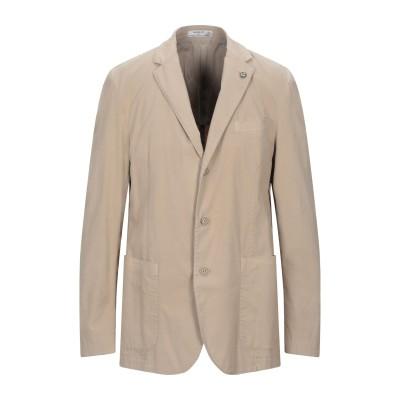 MANUEL RITZ WHITE テーラードジャケット サンド 54 コットン 97% / ポリウレタン 3% テーラードジャケット