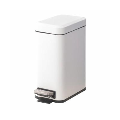 トラッシュカン 5L ホワイトLFS-232WH 東谷 ゴミ箱 ふた付 ペダル式 ごみ箱 ダストボックス メーカー直送 同梱不可 代引不可 配送地域限定