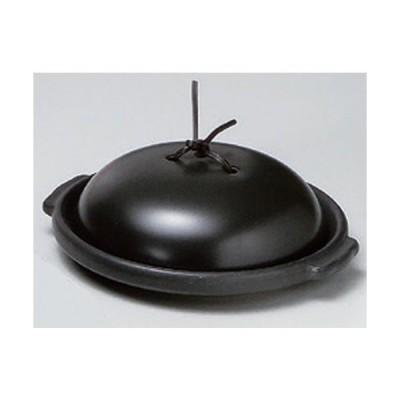 ☆ 耐熱調理器 ☆黒8.0陶板 (組) [ 24 x 21.6 x 7.9cm 1327g ] 【 カフェ レストラン 洋食器 飲食店 業務用 】