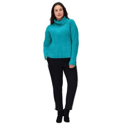 レディース 衣類 トップス ellos Women's Plus Size Chenille Turtleneck Sweater ブラウス&シャツ