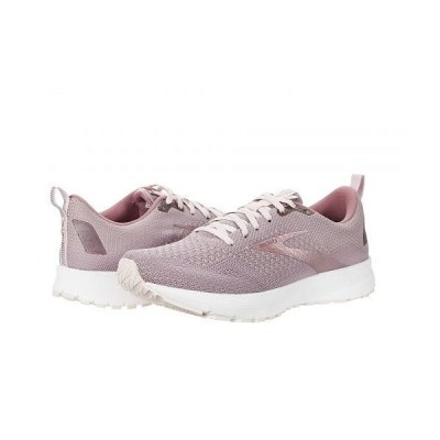 Brooks ブルックス レディース 女性用 シューズ 靴 スニーカー 運動靴 Revel 4 - Almond/Metallic/Primrose