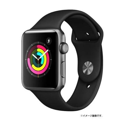 Apple(アップル) Apple Watch Series3(GPSモデル)- 42mmスペースグレイアルミニウムケースとブラックスポーツバンド MTF32J/A