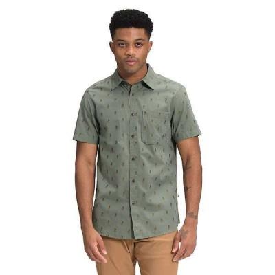 ノースフェイス メンズ シャツ トップス The North Face Men's Baytrail Jacquard SS Shirt