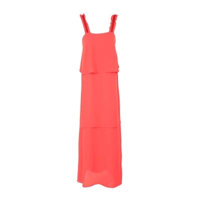 RUE•8ISQUIT ロングワンピース&ドレス レッド 46 ポリエステル 100% ロングワンピース&ドレス