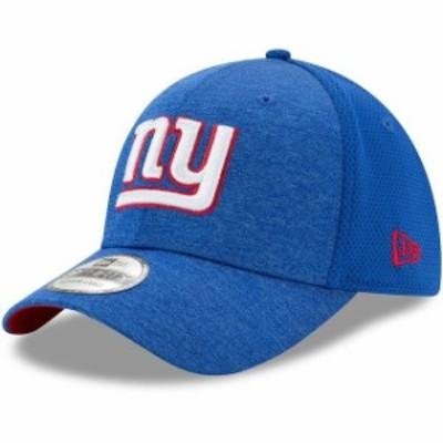 New Era ニュー エラ スポーツ用品  New Era New York Giants Royal Shadowed Team 39THIRTY Flex Hat