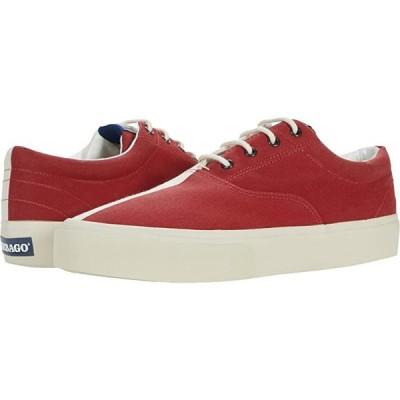 Sebago John Flags メンズ スニーカー 靴 シューズ Red/Off-White