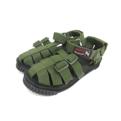 【中古】未使用品 シャカ SHAKA HIKER サンダル 26cm オリーブ 433000 210202E 靴 メンズ 【ベクトル 古着】