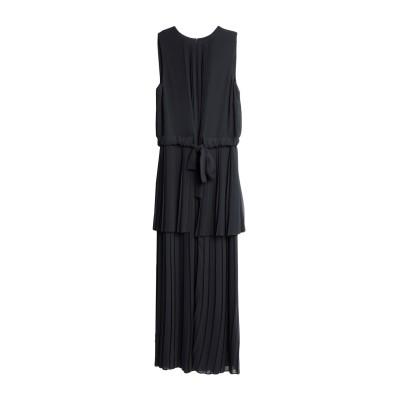 アレッサンドロデラクア ALESSANDRO DELL'ACQUA ロングワンピース&ドレス ブラック 38 ポリエステル 100% ロングワンピー