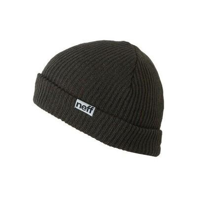 帽子 ネフ Neff Fold ビーニー チャコール ワンサイズ