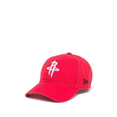 ニューエラ メンズ 帽子 アクセサリー NBA Houston Rockets Baseball Cap RED