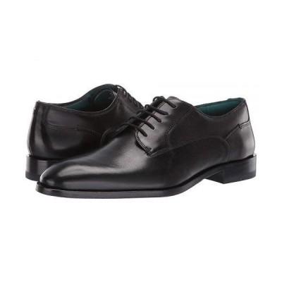 Ted Baker テッドベイカー メンズ 男性用 シューズ 靴 オックスフォード 紳士靴 通勤靴 Parals - Black