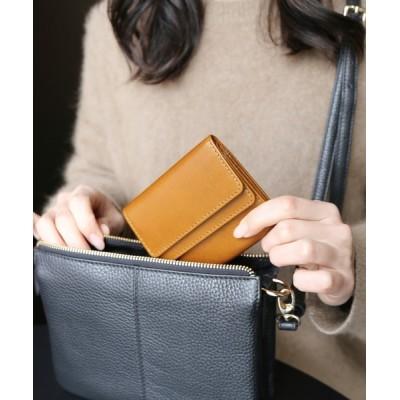 三京商会 / [Mia Borsa]牛革レザー 三つ折りミニ財布 WOMEN 財布/小物 > 財布