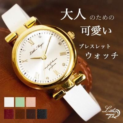 腕時計 レディース 時計 パステル 高級感 ゴールド おしゃれ かわいい 本革 革ベルト 日本製クオーツ 防水 軽量 金属アレルギー プレゼント