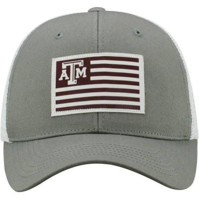 トップ・オブ・ザ・ワールド 帽子 アクセサリー メンズ Top of the World Men's Texas A&M University Brave Adjustable Cap Gray