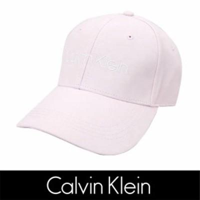 Calvin Klein(カルバンクライン)logo cap ピンク ロゴ 刺繍 キャップ PINK