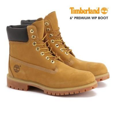 ティンバーランド メンズ ブーツ 6インチ ウォータープルーフ ヌバック TIMBERLAND 6inch PREMIUM WP BOOT 10061 WHEAT