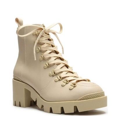 シュッツ レディース ブーツ・レインブーツ シューズ Xayane Leather Lug Sole Block Heel Combat Boots