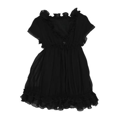 ドンダップ DONDUP ワンピース&ドレス ブラック 8 ポリエステル 100% ワンピース&ドレス