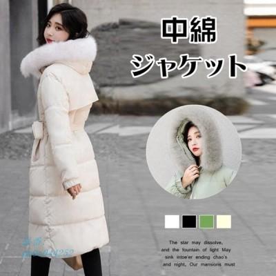アウター 中綿コート レディース コート ロング モッズコート 防寒 フード ジャンパー ブルゾン中綿 中綿ジャケット