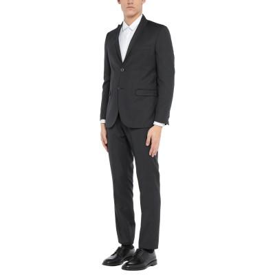 ALESSANDRO GILLES スーツ ブラック 50 ウール 65% / レーヨン 35% スーツ