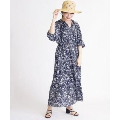 SHIPS for women / シップスウィメン ジャガード羽織ワンピース