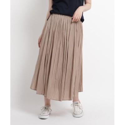 Dessin(Ladies)(デッサン(レディース)) 【XSサイズあり・Lサイズあり】サテンギャザースカート