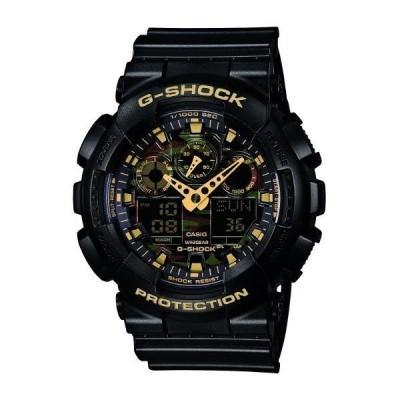 カシオ 腕時計 ゴールド GA-100CF-1A9JF [GA100CF1A9JF]