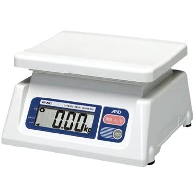 取引証明用 デジタルはかり ひょう量:20kg 最小表示:0.02kg 皿寸法:230 SK-20Ki(ホワイト, 最小表示:20g)