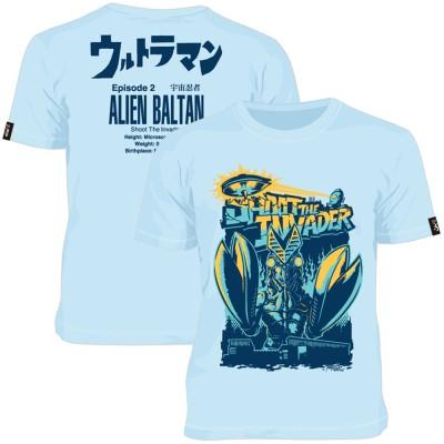 ウルトラマン - (55周年記念 ) - 侵略者を撃て / バックプリントあり / Tシャツ / メンズ 【公式 / オフィシャル】(S)