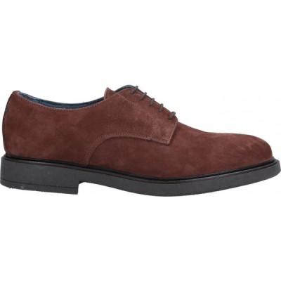 ベリー BRUNO VERRI メンズ シューズ・靴 laced shoes Brown