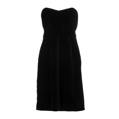 ANNA RACHELE BLACK LABEL ミニワンピース&ドレス ブラック 42 レーヨン 82% / ナイロン 18% / ナイロン /