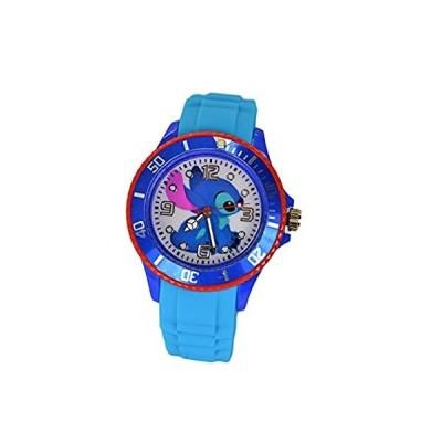"""特別価格Disney Lilo & Stitch Watch .Large Analog Dial. 9""""L Band. ディズニーリロ&スティッチウォッチ.好評販売中"""