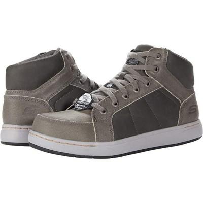 スケッチャーズ Watab - Stirling Steel Toe メンズ スニーカー 靴 シューズ Charcoal