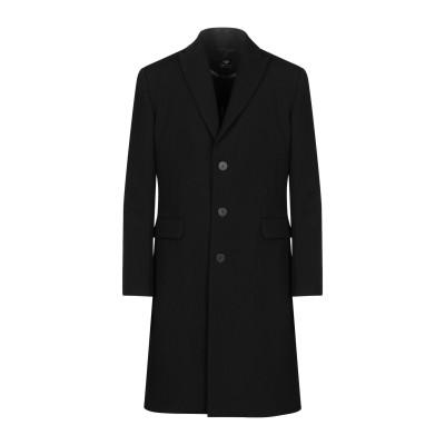 トムレベル TOM REBL コート ブラック 48 バージンウール 90% / コットン 7% / レーヨン 2% / シルク 1% コート