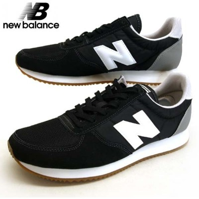 ニューバランス New Balance U220 HB ランニングシューズ スニーカー 黒 メンズ